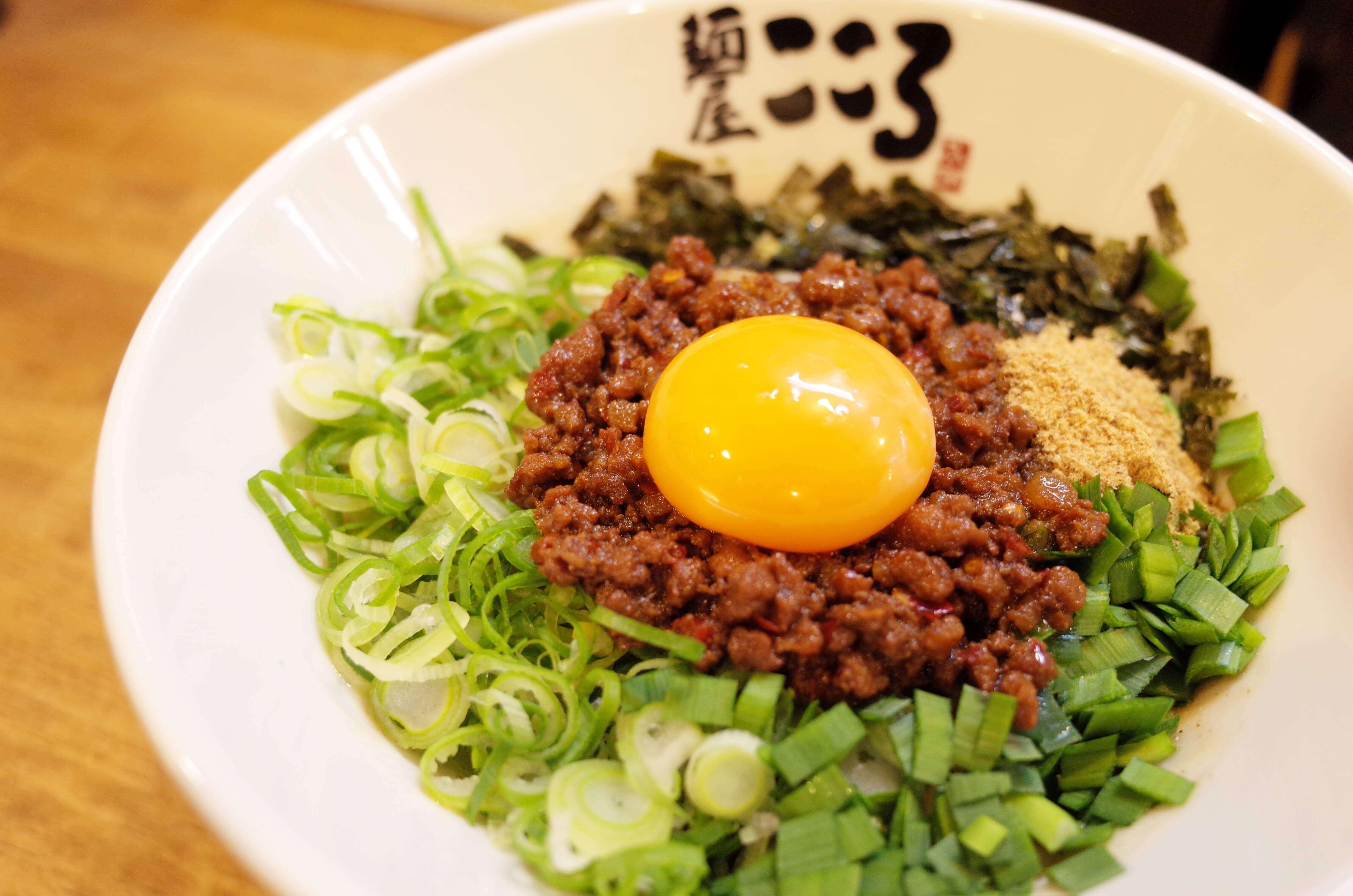 麺屋こころ堺東店の台湾まぜそばの写真