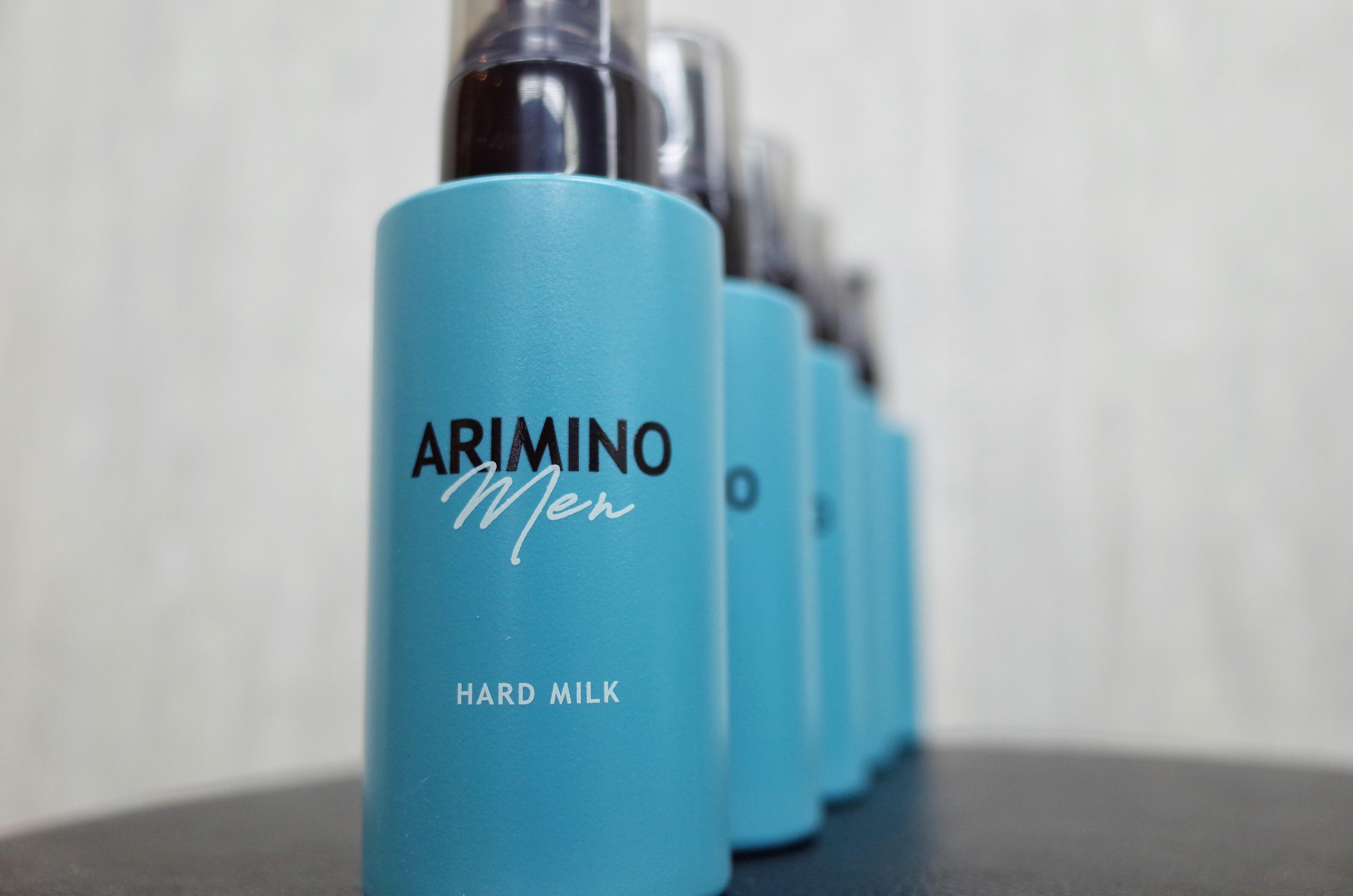 アリミノメンハードミルクの写真