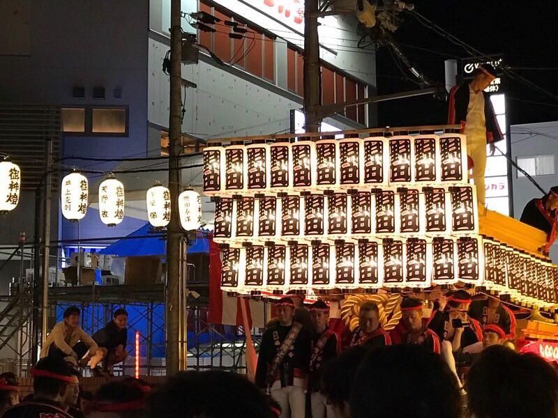 鳳のだんじり「野田」の写真