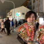 南海本線堺駅近く、ライフヘアーが【堺戎神社】えべっさんに参る様子。