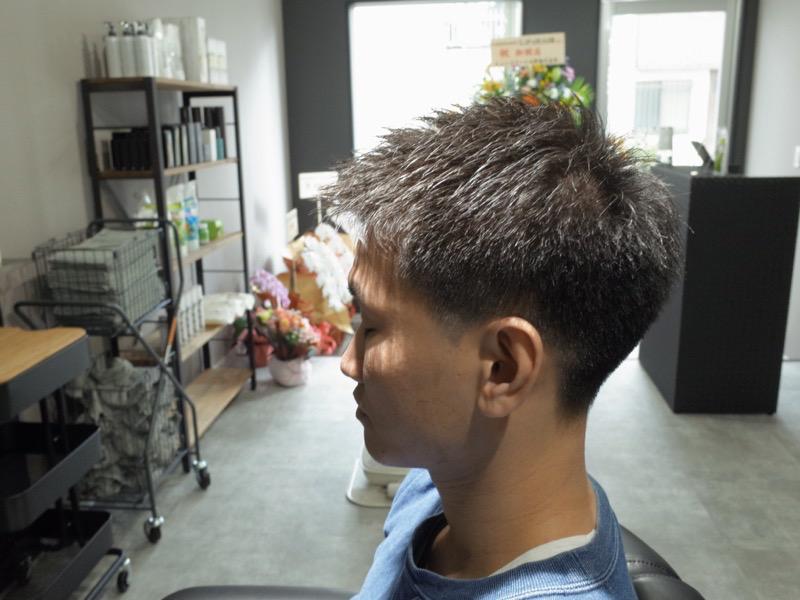 大阪の堺でカットしたベリーショートの髪型