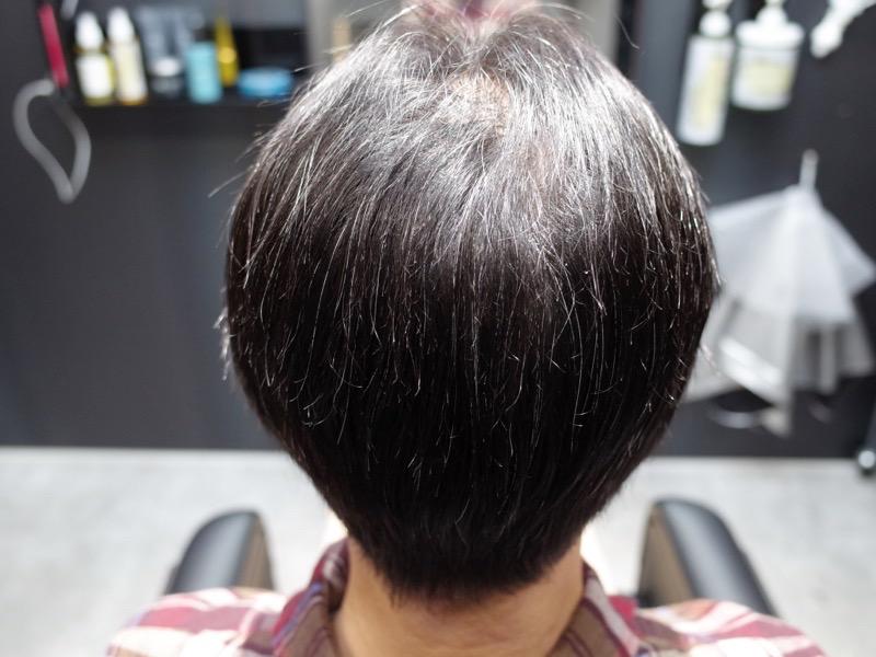 大阪の堺でメンズ縮毛矯正をするAfterの写真